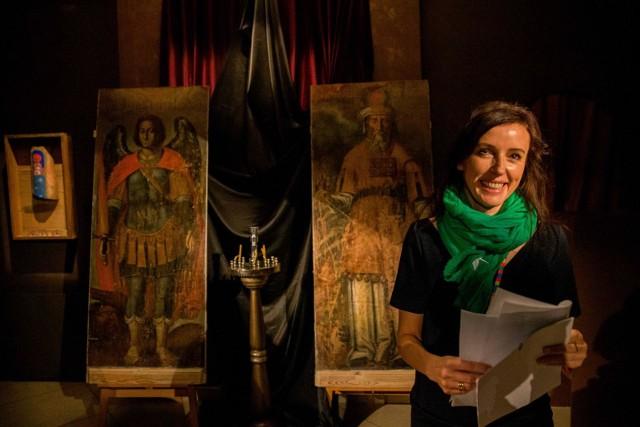 Muzeum Ikon w Supraślu - szefowa Ewa Zalewska