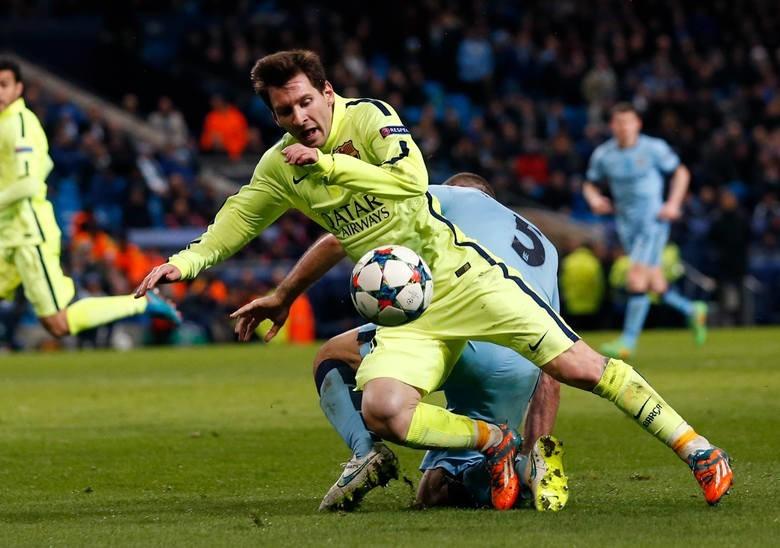 Barcelona zagra dzisiaj z Manchesterem City. Transmisja TV w Canal+ Sport i TVP. Mecz online - Ekstraklasa.net. Na zdjęciu: Lionel Messi.