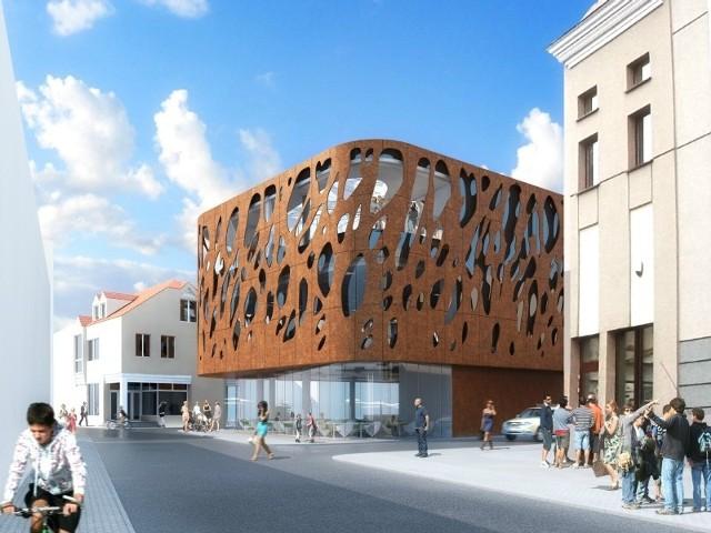Taki budynek ma powstać przed Grand Hotelem, od strony ul. Dymnickiego.