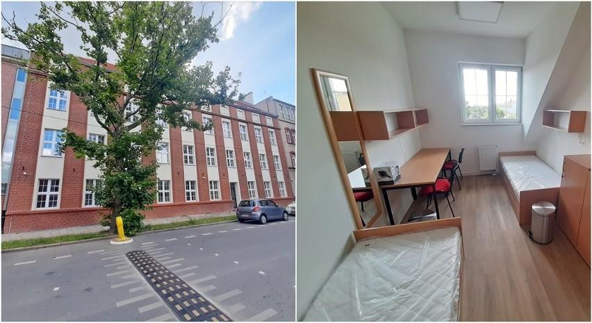 Internat na Sowińskiego w Szczecinie.