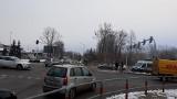 Wypadek na skrzyżowaniu al. Bartoszewskiego i ul. Pryncypalnej. Jedna osoba została ranna