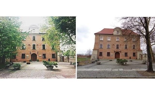 Akademia Lubrańskiego przed i po wycince. Zobacz więcej zdjęć ---->