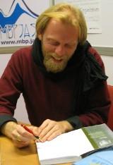 W jasielskiej bibliotece gościł Max Cegielski