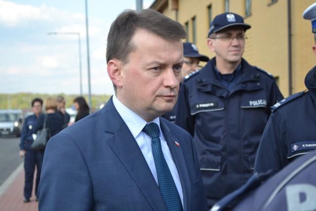 Min. Mariusz Błaszczak zawiózł na Śląsk projekt ustawy o metropolii śląskiej.
