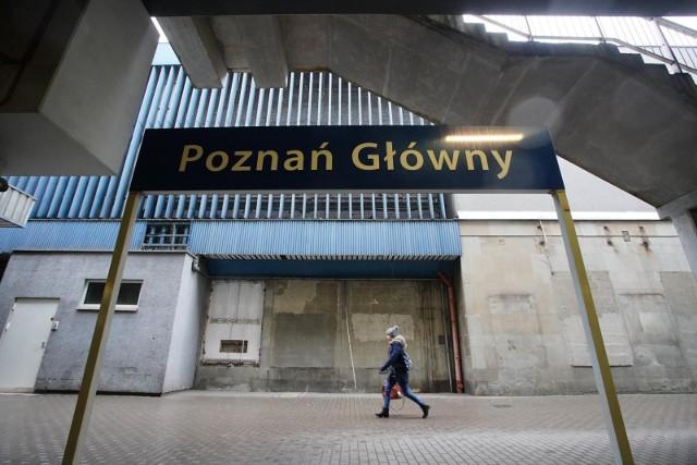 Informacja o podłożeniu bomby na dworcu Poznań Główny
