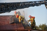 Pożar domu jednorodzinnego w Myszkowie. Na miejscu 6 zastępów straży pożarnej ZDJĘCIA