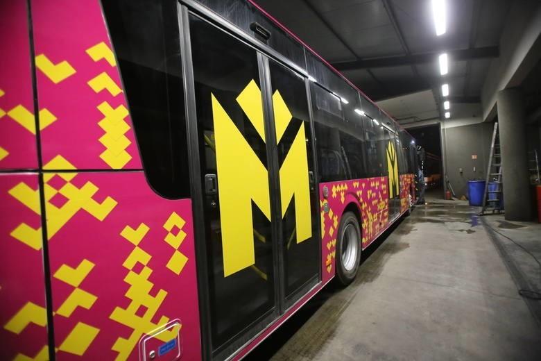 c5750cae282e90 Żółty będzie przeznaczony dla regularnych linii autobusowych; fuksja -  liniom specjalnym, czyli np.