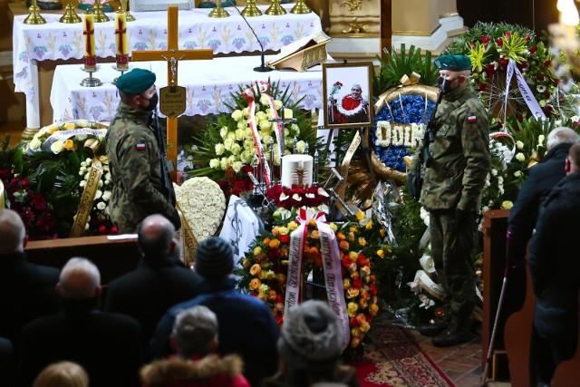 Pogrzeb Ryszarda Szurkowskiego w Wierzchowicach 13.02.2021