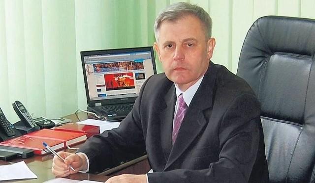 Waldemar Grochowski, burmistrz Rudnika nad Sanem, powiat niżański zdobył najwięcej głosów na plus