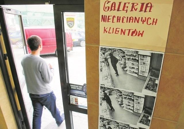 Wywieszone w sklepie fotografie złodziei skutecznie odstraszają kolejnych przestępców