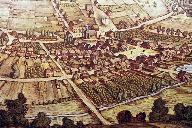 Tak na starej rycinie wyglądała przed wiekami Łódź. Nikt nie przypuszczał, że stanie się po latach przemysłowym miastemPOZNAJ HISTORIĘ MIASTA I ZOBACZ JAK ZMIENIAŁO SIĘ PRZEZ LATA ----> PRZEJDŹ DO KOLEJNYCH SLAJDÓW