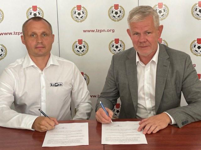 ŁZPN podpisał umowę z firmą KEEZA