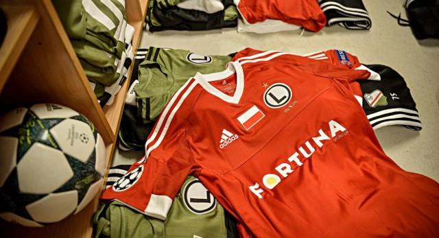 Liga Mistrzów. Legia zagra ze Sportingiem w kolorach reprezentacyjnych.