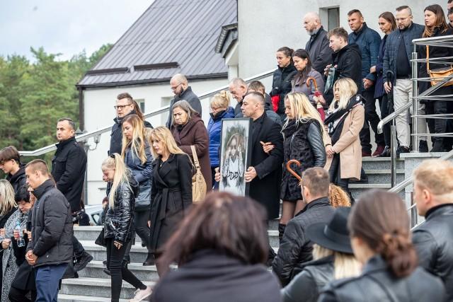 Michał Banaszek spoczął na cmentarzu parafialnym w Karakulach
