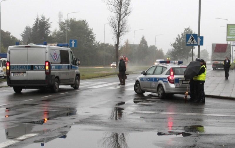 Wypadek na ul. 26 Kwietnia