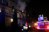 Pożar na Jaracza w Łodzi. Zginęły dwa psy.Lokatorki nie było w mieszkaniu [ZDJĘCIA, FILM]