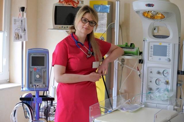 Doktor Joanna Walotek kieruje Oddziałem Neonatologii