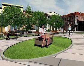 Modernizacja Rynku ma zostać przeprowadzona w latach 2010-2011 w ramach Lokalnego Planu Rewitalizacji Miasta. (fot. Mirosław Dragon)
