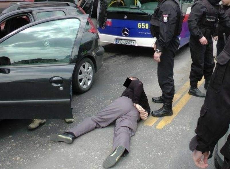 Policjanci z Bydgoszczy schwytali kolejnych członków gangu...