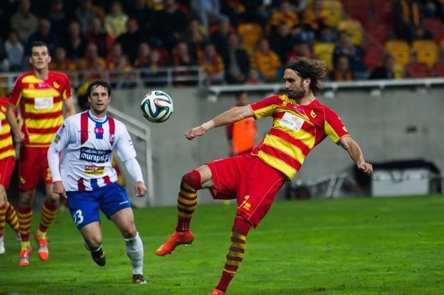 Sebastian Madera był jesienią silnym punktem defensywy żółto-czerwonych i oby podobną formę prezentował także po zimowych przygotowaniach
