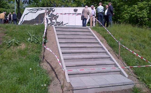 Nielegalne schody na Cytadeli