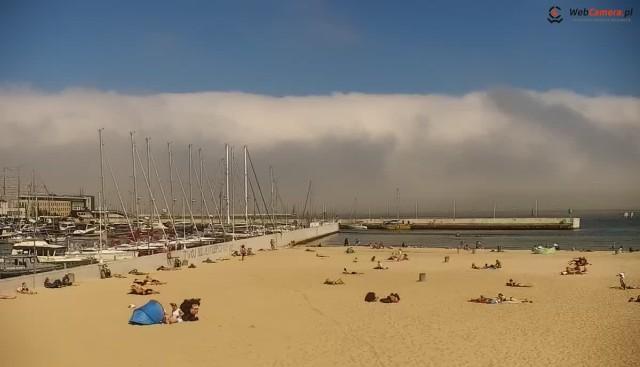 Mgła adwekcyjna w Gdyni