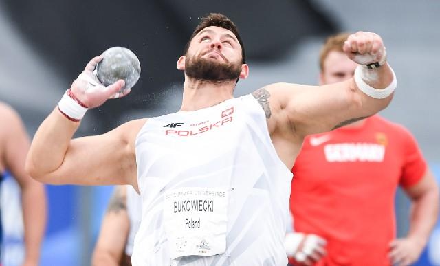 Konrad Bukowiecki zdobył złoty medal i pobił 34-letni rekord uniwersjady w pchnięciu kulą