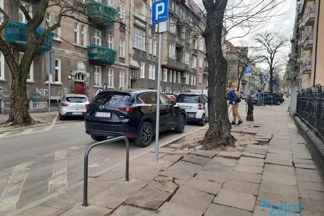 Remont chodnika zapowiadany jest na ul. Żupańskiego