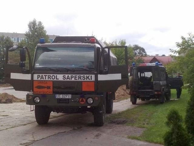 W Muzeum Rolnictwa w Ciechanowcu znaleziono niewybuchy. Ewakuowano plac budowy przez pociski przeciwpancerne