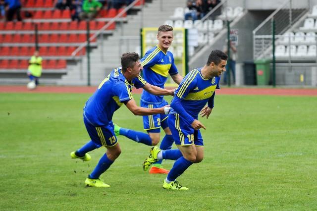 Gol w przedłużonym czasie zapewnił Stali Brzeg zwycięstwo.