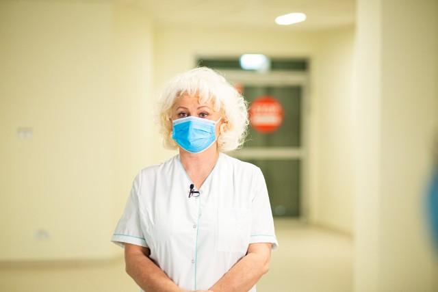 dr n. med. Agata Kusz-Rynkun, Ordynator Oddziału Zakaźnego w Szpitalu Południowym w Warszawie