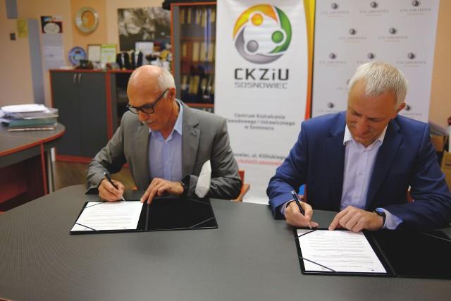CTL Logistics i CKZiU w Sosnowcu podpisali list intencyjny. Współpraca będzie korzystna dla uczniów
