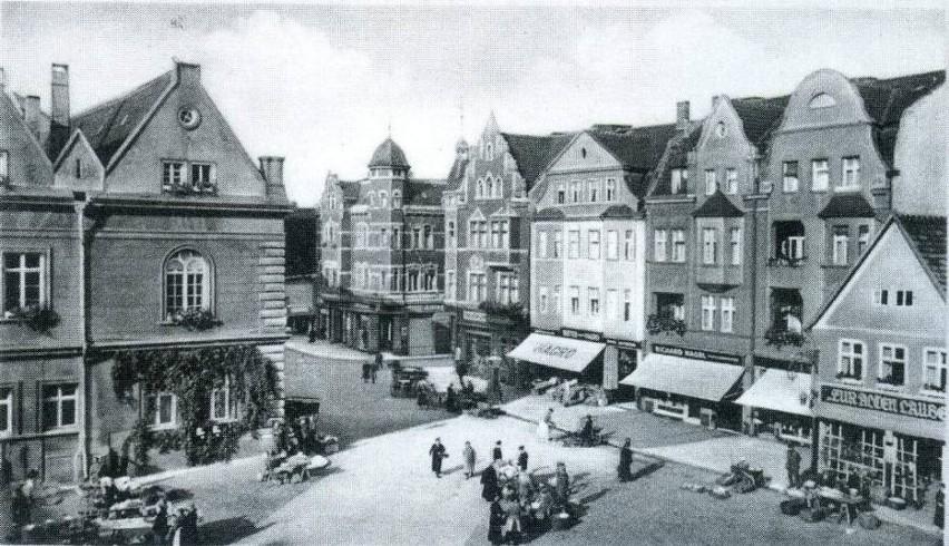 Rynek, kościół, kamieniczki, domy... Stary Świebodzin miał...