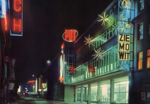 Trudno było przejść obojętnie obok tak oświetlonego Ziemowita na ulicy Krakowskiej.