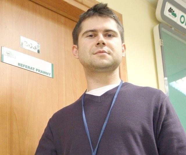 Grzegorz Abramek od jesieni ubiegłego roku jest na stażu w MUP Lublin. – Zdobywam tu pierwsze zawodowe doświadczenie, w dodatku zgodne z moim wykształceniem – cieszy się.