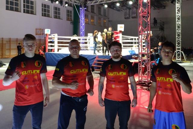 Stal Stalowa Wola Boxing Team w czasie gali w Białymstoku
