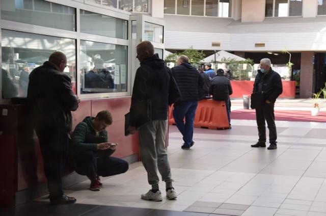 Kierowca zakażony koronawirusem czekał na odprawę na terminalu w Świecku