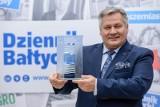 Adam Meller, prezes Zarządu Morskiego Portu Gdynia SA odebrał statuetkę TOP Menedżera 2019