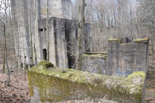 Zapewne w latach 20. albo 30. XX wieku powstała niedaleko obecnej wsi Dalimierz (gm. Polanów) niemiecka fabryka kruszywa (szutru). Do dzisiaj zachowała się jej część. Nietypowy, nieco monumentalny wygląd sprawia, że niektórzy chcą w niej widzieć coś innego, niż kruszenie kamieni…
