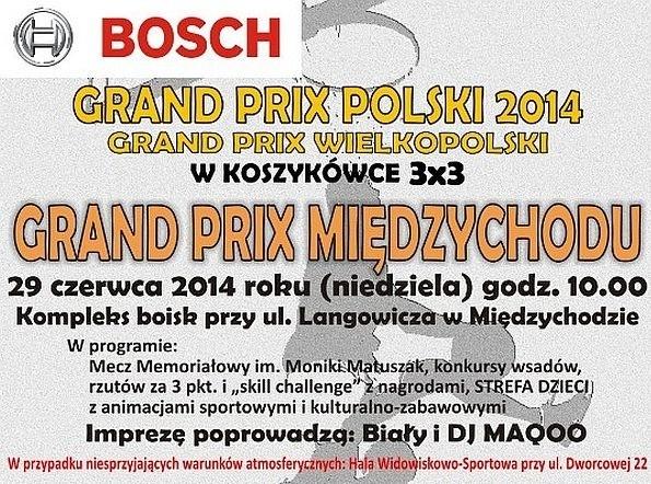 W niedzielę w Międzychodzie rozegrany zostanie turniej Grand Prix w koszykówce ulicznej 3:3.