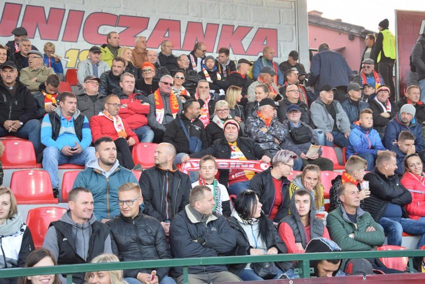 Chojnice. Kibice na meczu Chojniczanka - Legia Warszawa [zdjęcia]