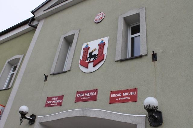 Urząd miejski w Praszce