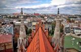 Kraków. Panorama Krakowa z wieży kościoła św. Józefa [ZDJĘCIA]