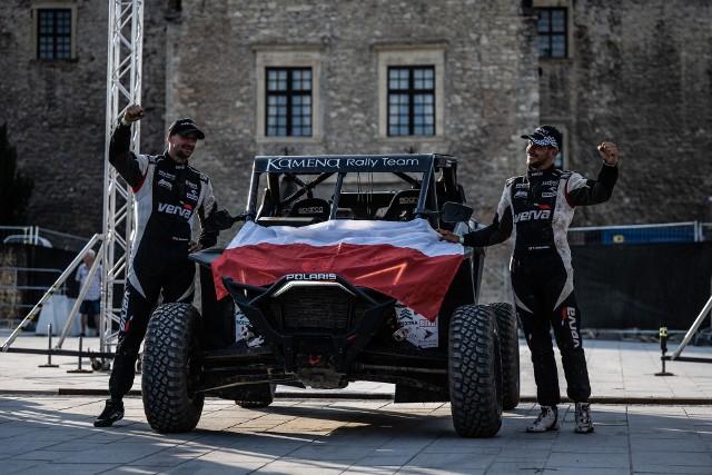 Załoga Kamena Rally Team miała na Węgrzech powody do świętowania