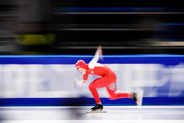 Artur Nogal wraz z kolegami z drużyny zajął ósme miejsce w drużynowym sprincie podczas zawodów Pucharu Świata w Mińsku