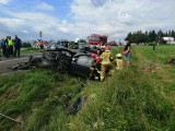Wypadek w Jabłonce na Podhalu. Cztery osoby zostały ranne [ZDJĘCIA]