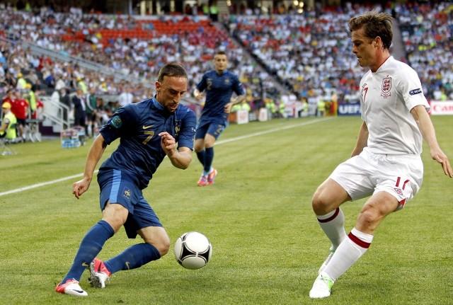 Euro 2012: Remis w hicie grupy D, czyli Francja - Anglia 1:1