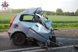 Wypadki na drogach woj. lubelskiego. Dwie osoby zginęły, kilka jest rannych