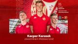 Widzew. Kacper Karasek został nowym piłkarzem klubu z al. Piłsudskiego