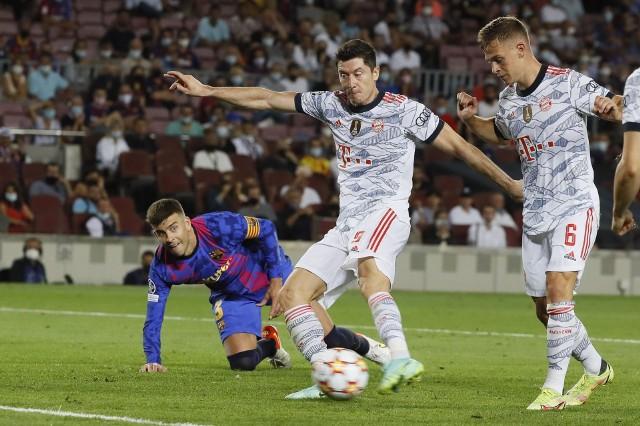 Lewandowski trafia nie tylko w Bundeslidze. We wtorek zdobył też dwie bramki w meczu Ligi Mistrzów z Barceloną